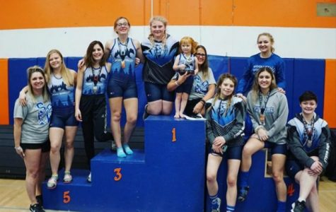 Sedro-Woolley High School Girls Wrestling took second overall at San Diego Tournament.