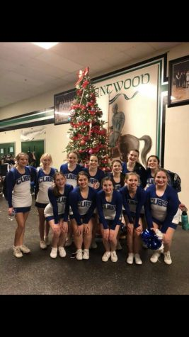 Cheer team takes third in Division