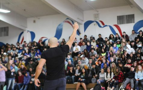 Suicide Survivor Kicks off Mental Health Awareness Month With a Visit to SWHS