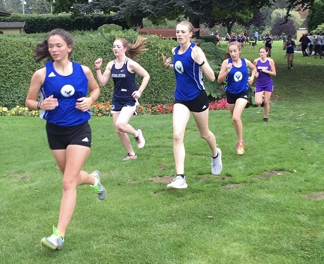 The Cubs led the pack last week in Blaine as they competed in  a meet that led them across the Canadian border.