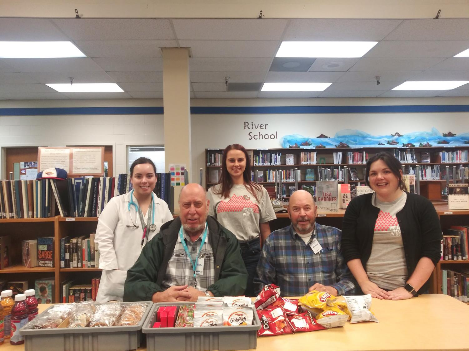 Student donors as well as staff from Bloodworks gathered in SWHS' LLC for an entire day of collecting vital donations to sent to over 90 hospitals in the PNW that the organization supples to.