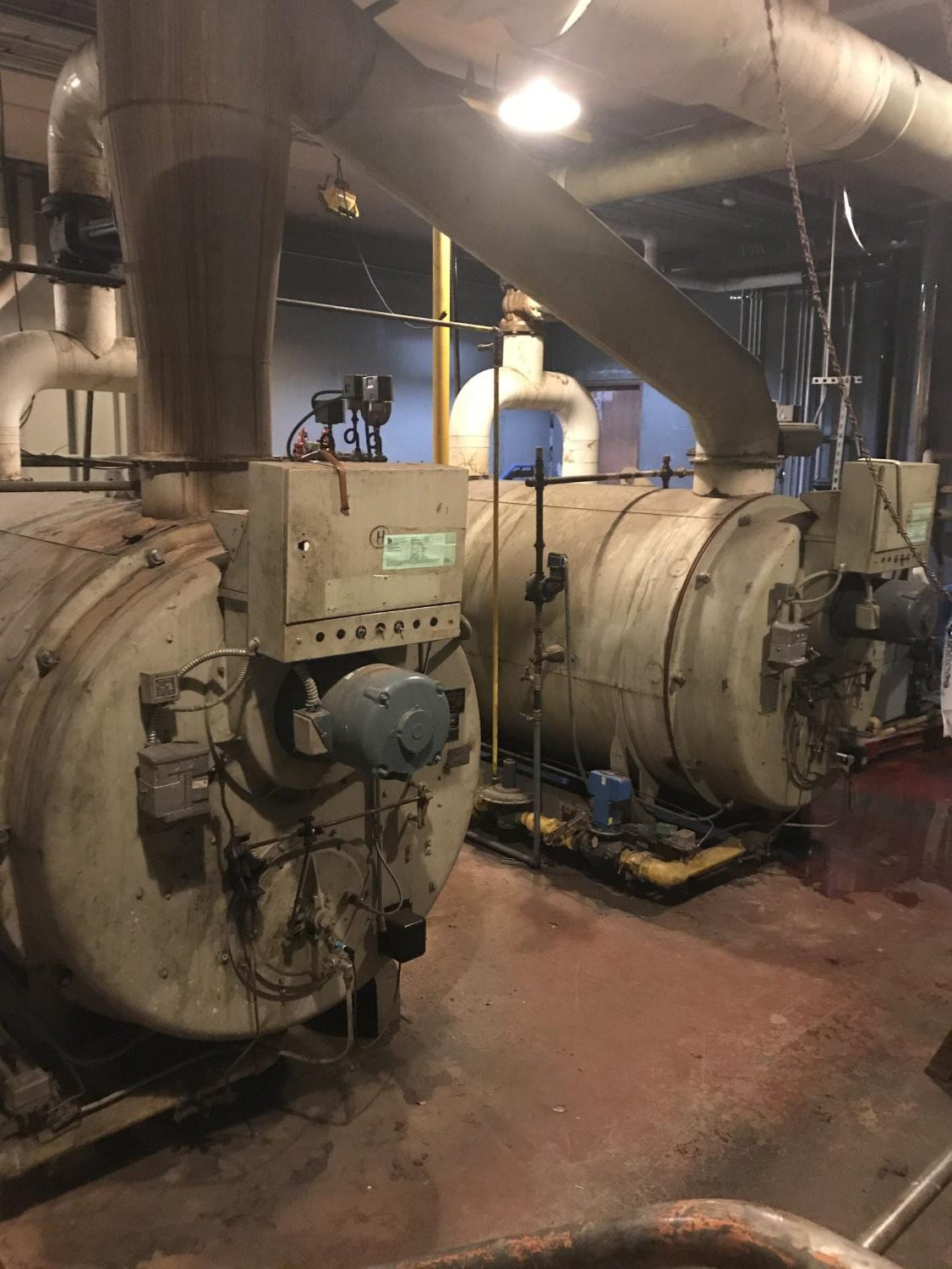Sedro-Woolley High School's boiler dates back to the 1950s and is a frequent and costly strain on the district.