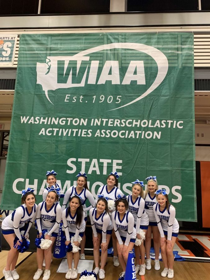 Sedro-Woolley+High+School+Competitive+Cheer+takes+fifth+at+state%2C+while+competing+against+other+schools+in+different+divisions.%0A