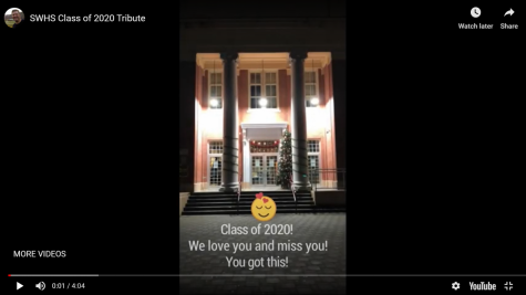 Staff at SWHS Sends Shoutouts to Seniors in Quarentine