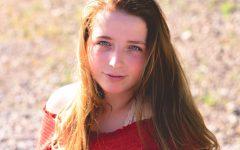 Senior Serina Wilson was a four-year choir student as well as editor of the Cub Newspaper.