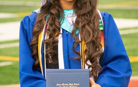 Alyssa Lecca recieves her diploma June 4, 2020 at Sedro-Woolley High School.