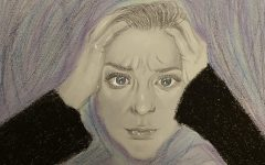 Bella Rinne illustrates her overwhelming feelings of anxiety.