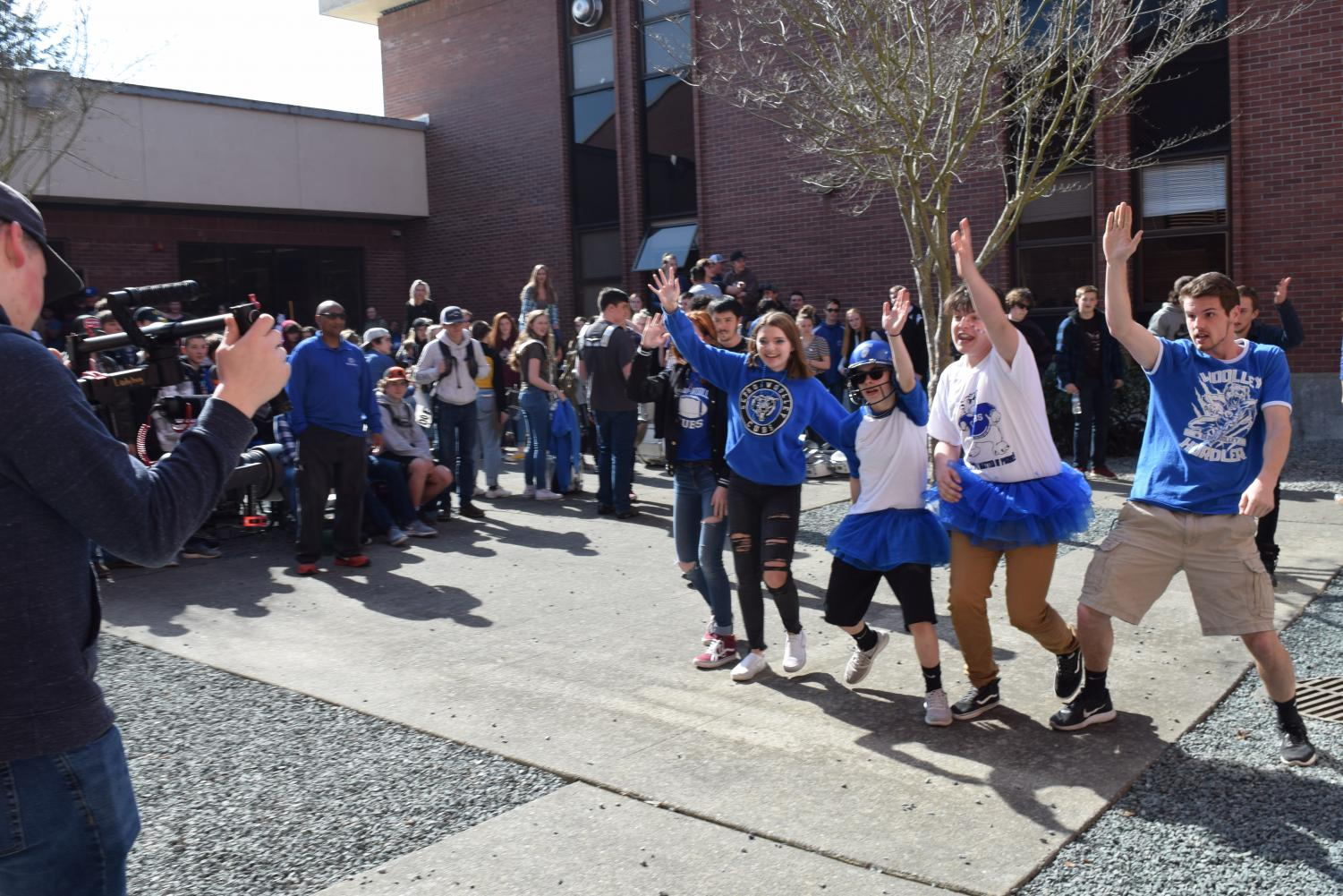 Sedro-Woolley High School students acted out some of the most popular trends and challenges of the last several years while lip syncing to some of the decades most popular hits.