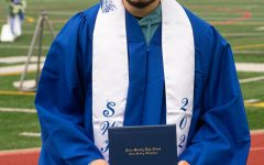 Brandon Rios at the Sedro-Woolley June 4, 2020 graduation celebration at Sedro-Woolley hIgh School.
